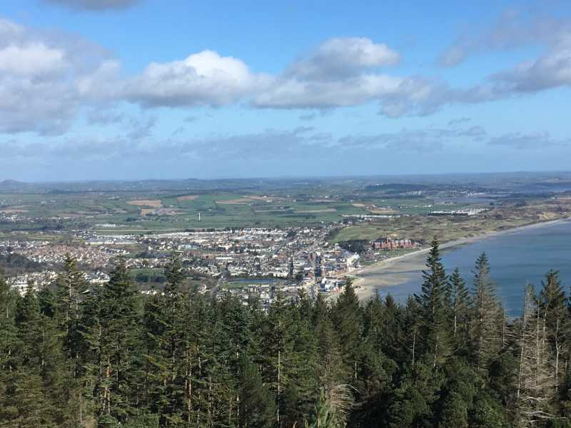 """Newcastle from Thomas Mountain"" from liz50 Contract pics"