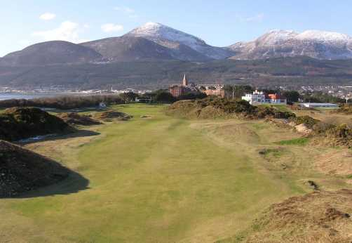 """9th at Royal Co Down"" from tsunami Contract pics"