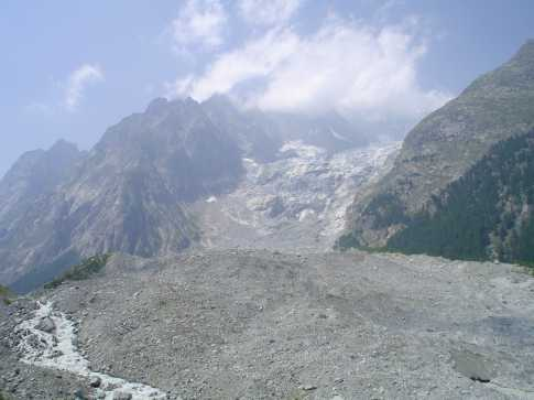 """Mont Blanc and the Brevna Glacier"" from jackill Contract pics"