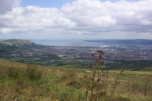 """view over Belfast from Divis"" from richrua Contract pics"