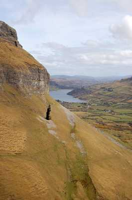 """Benbulben - Glencar side."" from simon3 Contract pics"