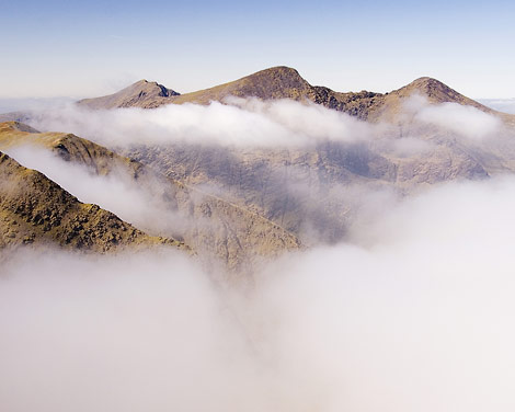 """The Reeks over clouds."" from simon3 Contract pics"