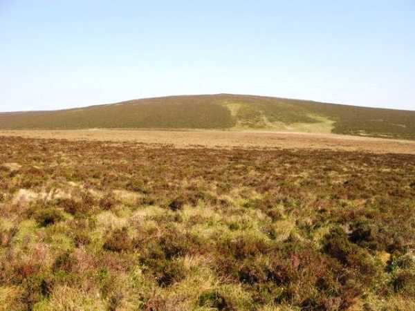 """The Red Sea with Mid hill beyond"" from slemish Contract pics"