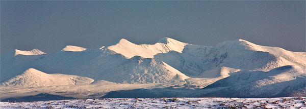"""The Reeks, 40km away from near Dingle."" from simon3 Contract pics"