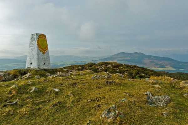 """Colourful Bray Head trig with Little Sugar Loaf behind"" from padodes Contract pics"