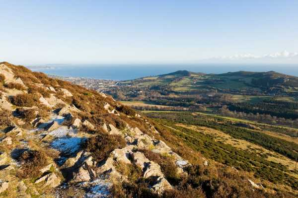 """Looking to Bray Head from Little Sugar Loaf"" from padodes Contract pics"