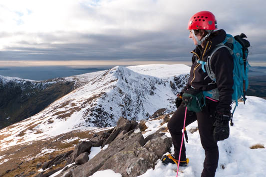 """Enjoying rare winter conditions on Lugmore Ridge, March 6th 2010"" from kernowclimber Contract pics"