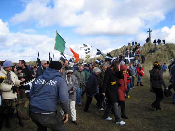 """Cornish and Irish celebrating St Piran"" from kernowclimber Contract pics"