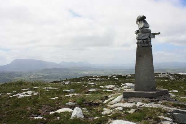 """Strange Trig Pillar in Donegal!"" from wicklore Contract pics"