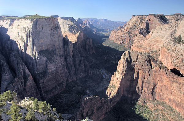 """View from Observation Point of Zion Canyon."" from simon3 Contract pics"