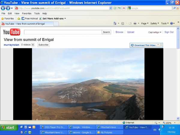 """The Errigal Video"" from CaptainVertigo Contract pics"