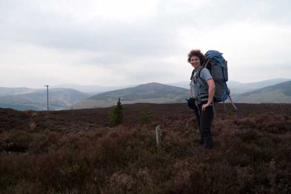 """En route to Lough Dan with backpack"" from kernowclimber Contract pics"
