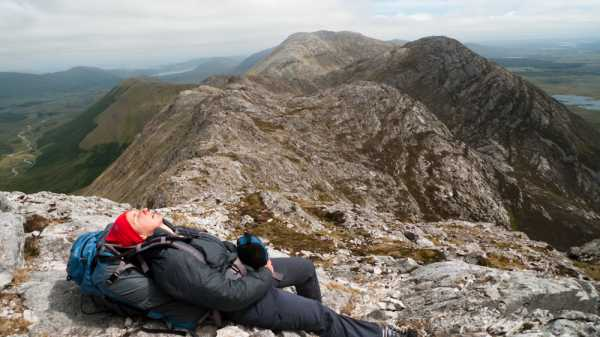 """Exhaustion creeping in!"" from kernowclimber Contract pics"