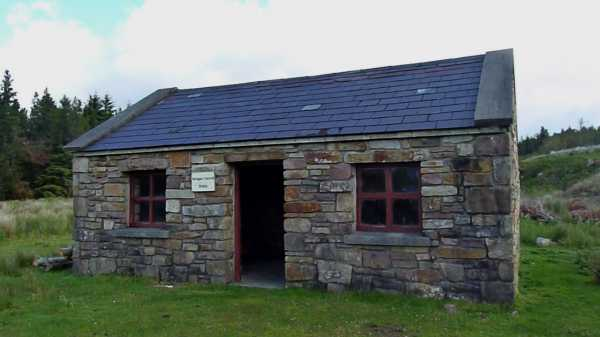 """The rustic Brogan Carroll Bothy"" from kernowclimber Contract pics"