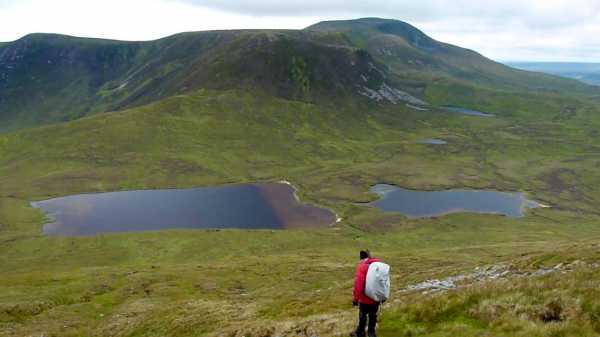 """Scardaun Lough and Slieve Carr from Nephin Beg"" from kernowclimber Contract pics"