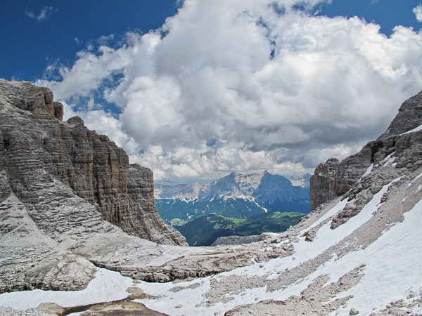 """From Sella Group towards Col Toronn in the Dolomites."" from simon3 Contract pics"