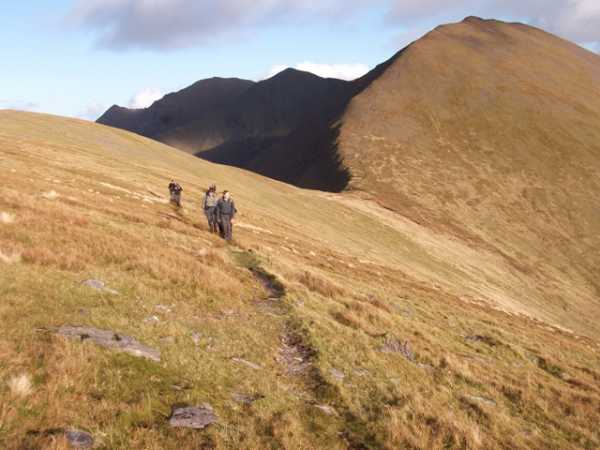 """At the end of the day in the eastern Reeks"" from wicklore Contract pics"