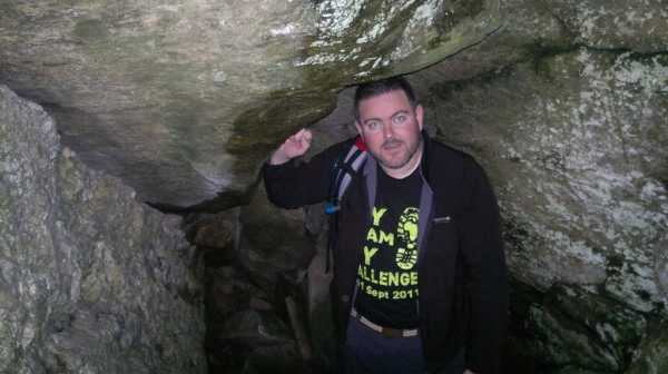 """Me in the Rebel Cave"" from Trailtrekker Contract pics"