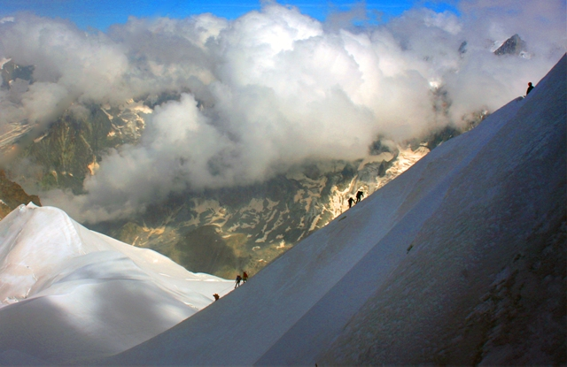"""Cosmic ridge-Aiguille du Midi"" from scannerman Contract pics"
