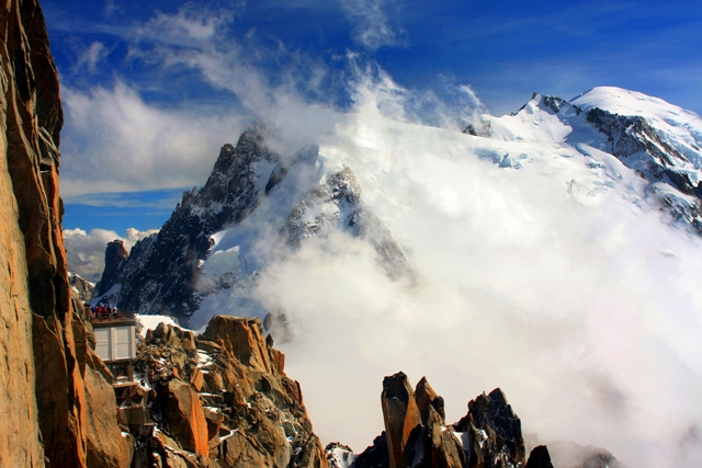 """Mt Blanc-the summit of europe."" from scannerman Contract pics"