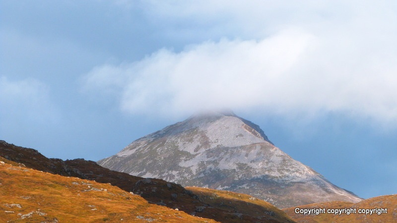 """Errigal View"" from Hilltop-Harrier Contract pics"