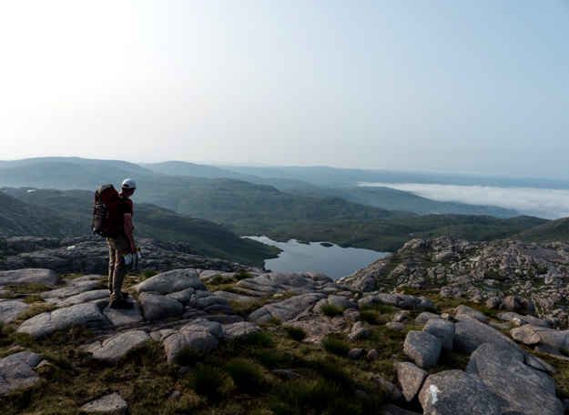 """Lough Belshade and cloud inversion from Ardnageer"" from kernowclimber Contract pics"