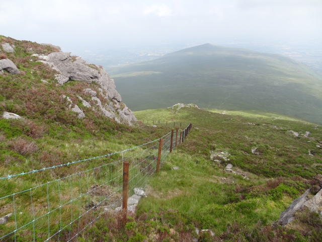 """New fence on Cnoc an Breaca."" from hivisibility Contract pics"