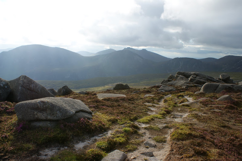 """Looking to Bearnagh from Chimney Rock"" from Peter Walker Contract pics"