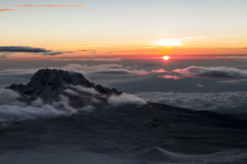 """Dawn over Africa from Kilimanjaro"" from kernowclimber Contract pics"