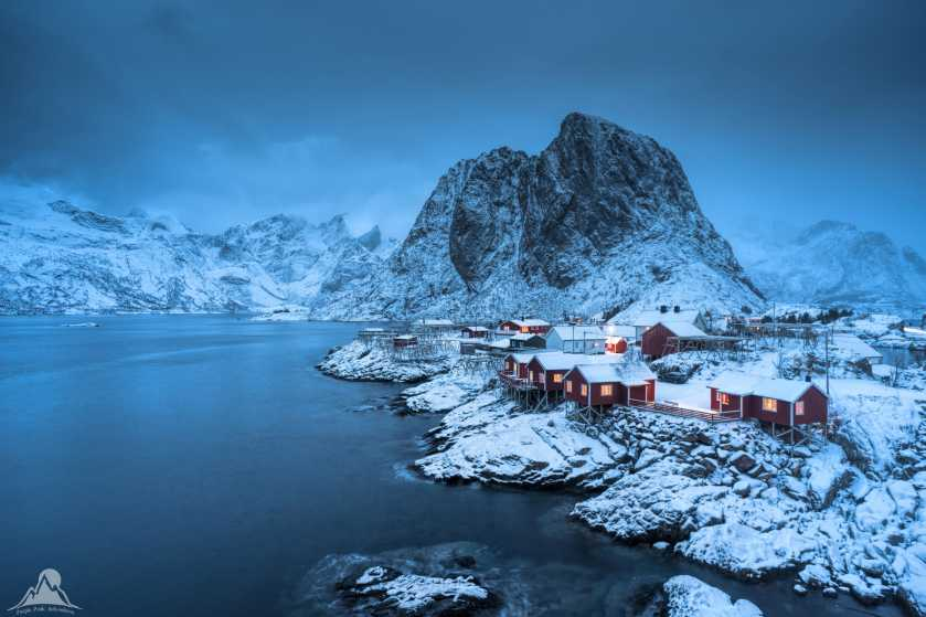 """Blue hour in Lofoten, Norway"" from mcrtchly Contract pics"