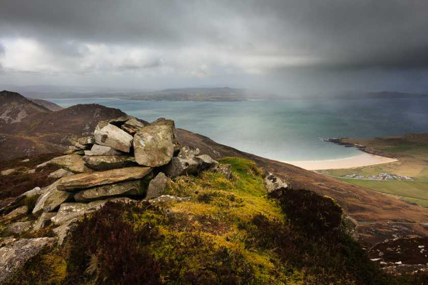 """Lenan beach from Mamore Hill"" from Aidy Contract pics"