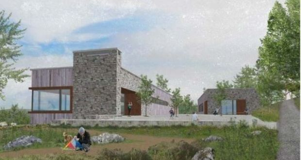 """Proposed visitor centre"" from wicklore Contract pics"