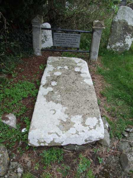 """The Grave of the Last High King of Ireland"" from Trailtrekker Contract pics"