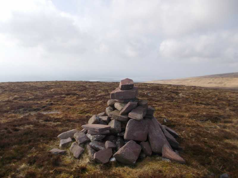 """The summit of one of the tops"" from Fergalh Contract pics"