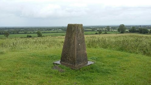"""The trig on The Hill of Ward"" from Fergalh Contract pics"