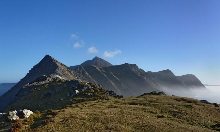 Achill Peaks by Larry Egan