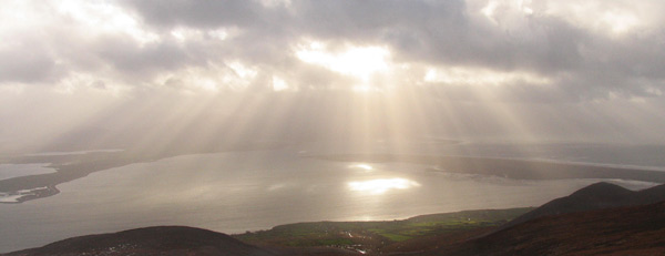 Dingle Bay from near Moanlaur