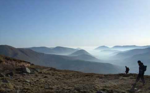 Maam Valley from Ben Creggan.