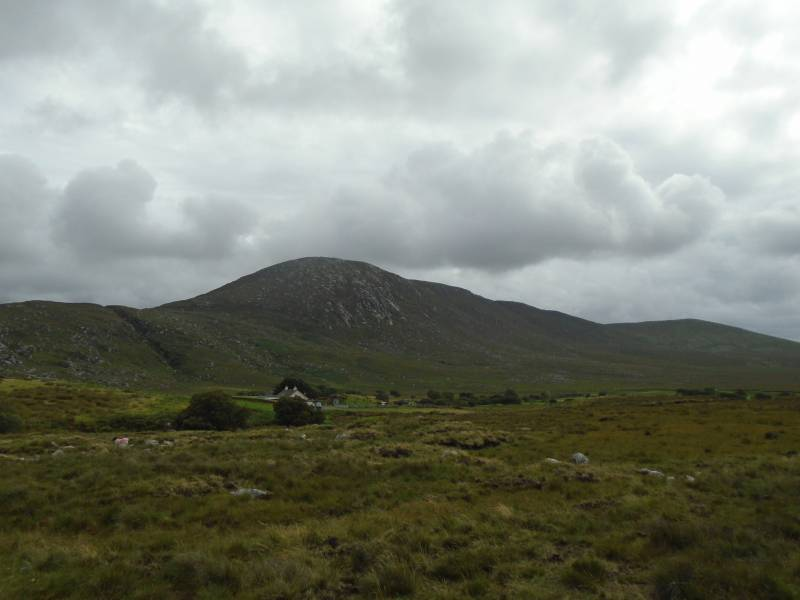 Laghta Eighter from low on the slopes of Knockakishaun