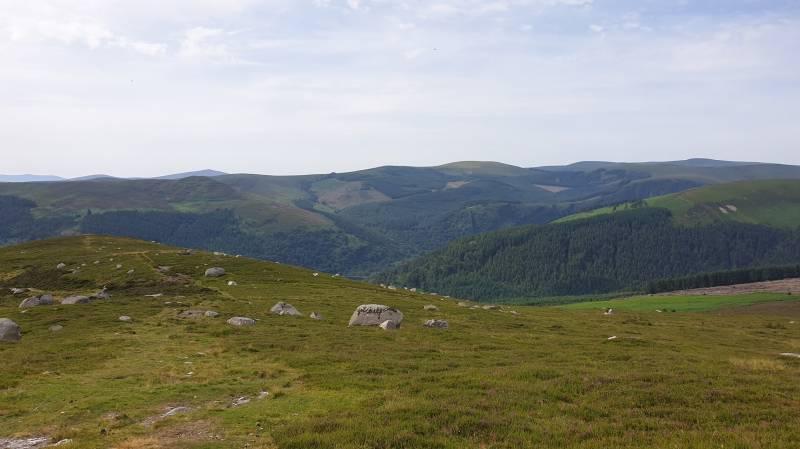 View from Brockagh Ridge