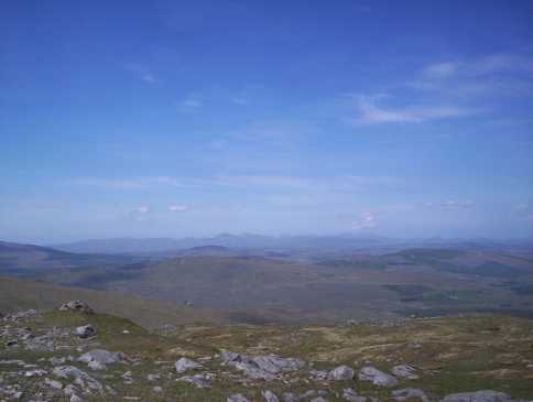 MountainViews.ie Picture about mountain Croaghgorm in area Bluestack Mountains, Ireland