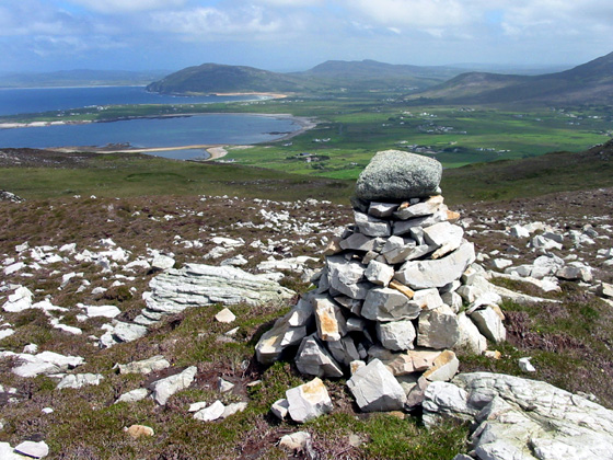 MountainViews.ie Picture about mountain Dunaff Hill in area Inishowen, Ireland