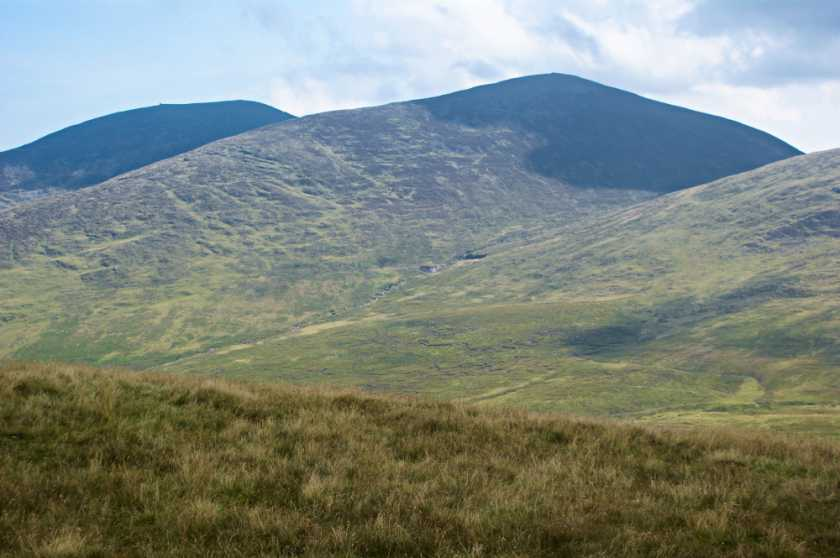 MountainViews.ie Picture about mountain Slieve Meelbeg in area Mourne Mountains, Ireland