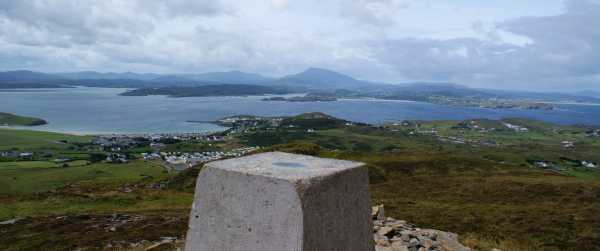 MountainViews.ie Picture about mountain Gáinne Mór in area Donegal NW, Ireland