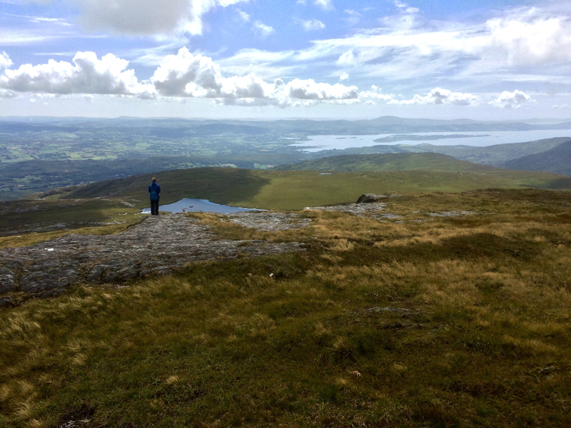 MountainViews.ie Picture about mountain Knockboy (<i>An Cnoc Buí</i>) in area Shehy/Knockboy, Ireland