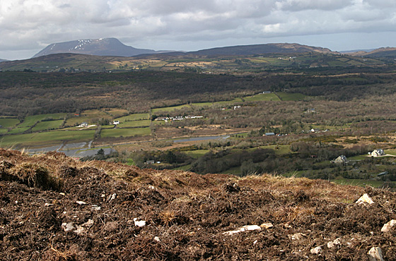 MountainViews.ie Picture about mountain Edenacarnan in area Donegal NW, Ireland