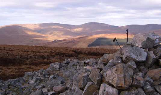 MountainViews.ie Picture about mountain Carnanelly in area Sperrin Mountains, County Tyrone, Ireland