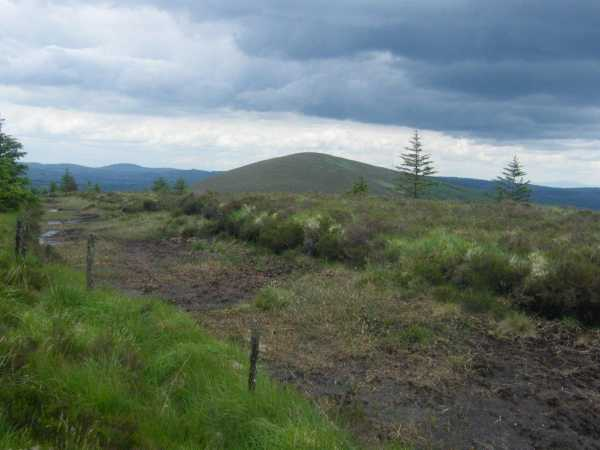 MountainViews.ie Picture about mountain Slieve Felim W Top in area Shannon, Ireland