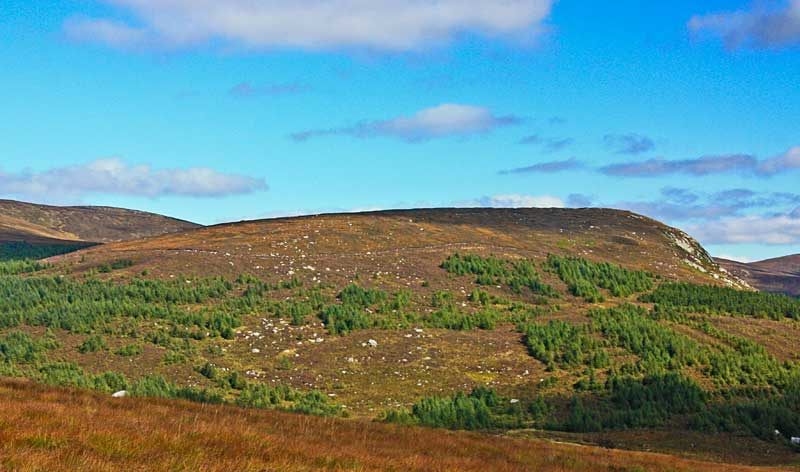 MountainViews.ie Picture about mountain Carrigshouk in area Dublin/Wicklow, Ireland