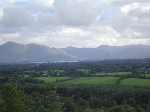 MountainViews.ie Picture about mountain Knockatagglemore (<i>Cnoc an Tseagail Mor</i>) in area W Limerick/N Kerry, Ireland